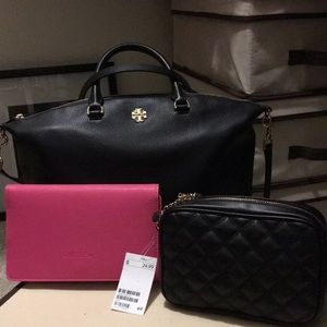 New H&M Black Quilted Handbag
